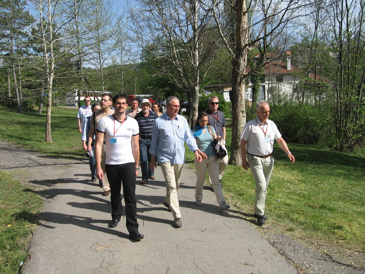 Saturday, 27 April; Walk Tour