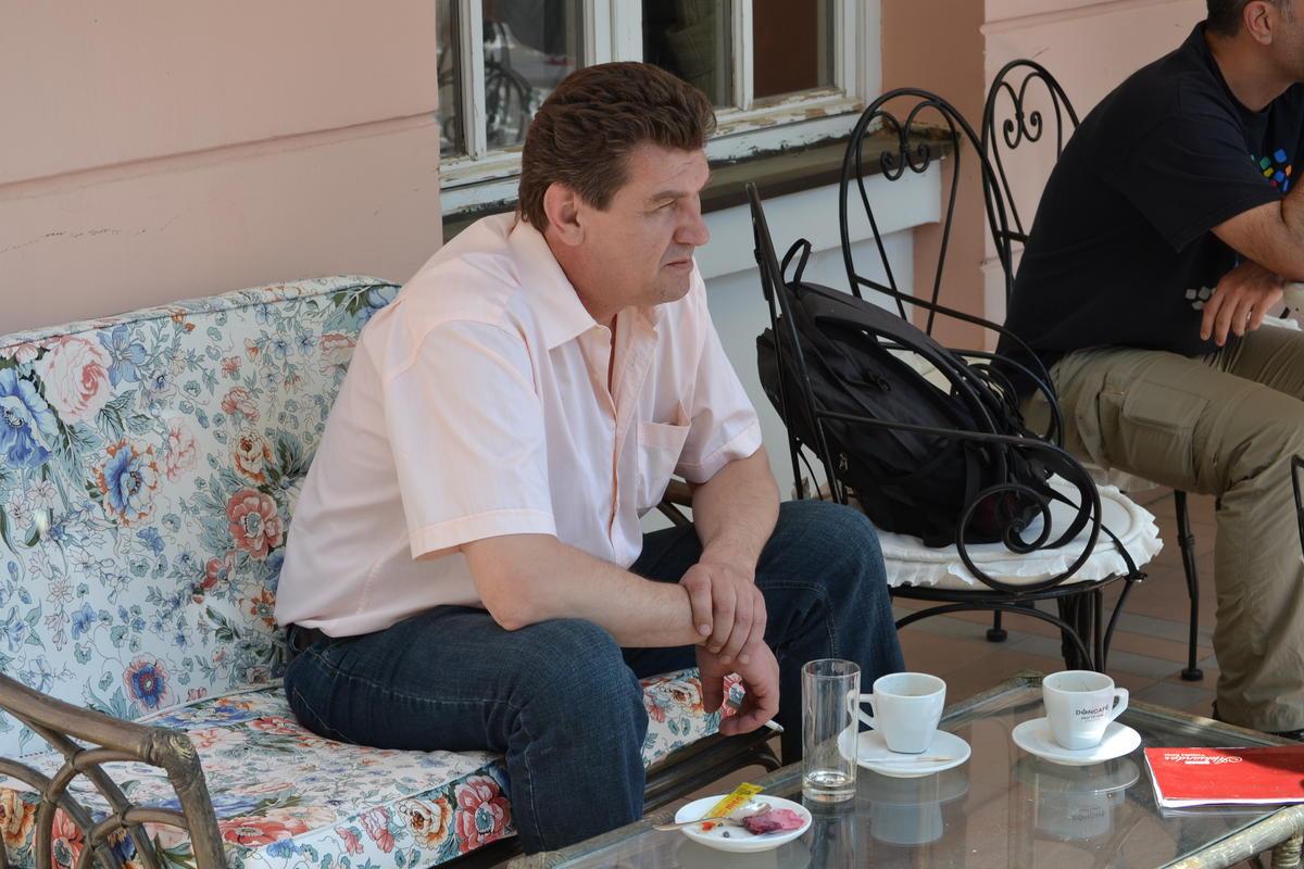 Sunday, 28 April; Coffee Break
